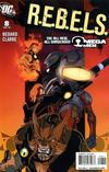 Cover for R.E.B.E.L.S. (DC, 2009 series) #8