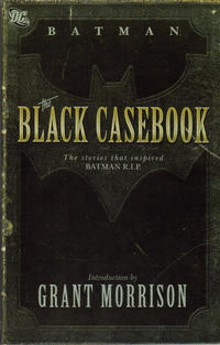 Cover Thumbnail for Batman: The Black Casebook (DC, 2009 series)