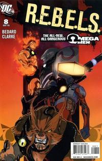 Cover Thumbnail for R.E.B.E.L.S. (DC, 2009 series) #8