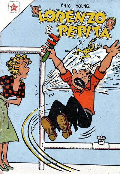 Cover for Lorenzo y Pepita (Editorial Novaro, 1954 series) #97