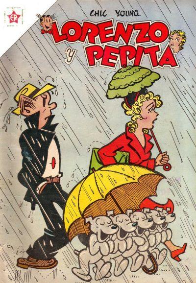 Cover for Lorenzo y Pepita (Editorial Novaro, 1954 series) #143