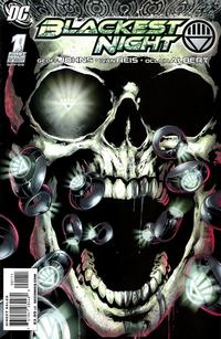Cover Thumbnail for Blackest Night (DC, 2009 series) #1 [Ivan Reis / Oclair Albert Cover]