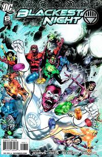 Cover Thumbnail for Blackest Night (DC, 2009 series) #8 [Ivan Reis Cover]