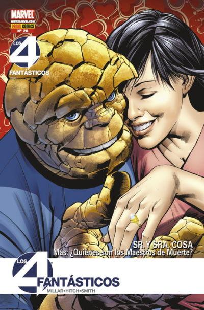 Cover for Los 4 Fantásticos (Panini España, 2008 series) #20