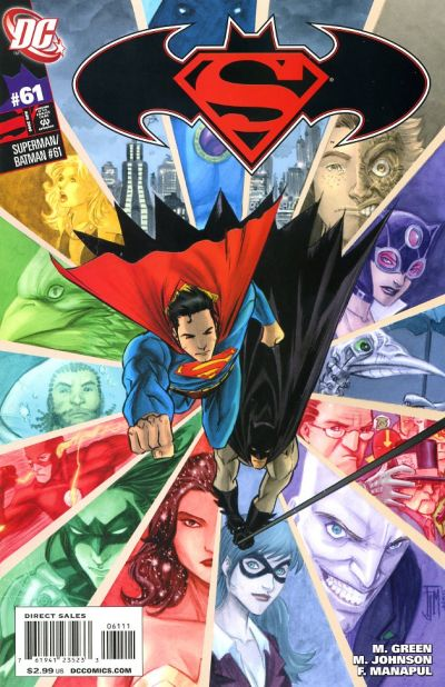 Cover for Superman / Batman (DC, 2003 series) #61