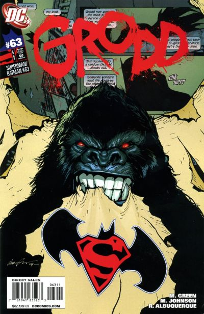 Cover for Superman / Batman (DC, 2003 series) #63