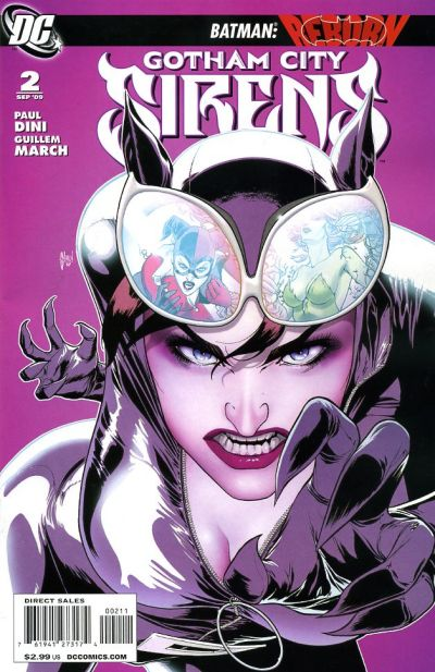 Cover for Gotham City Sirens (DC, 2009 series) #2