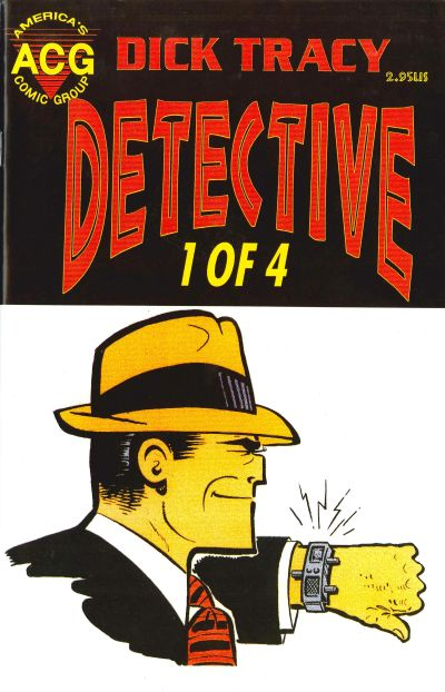 Cover for Dick Tracy Detective (Avalon Communications, 1999 series) #1