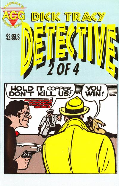 Cover for Dick Tracy Detective (Avalon Communications, 1999 series) #2