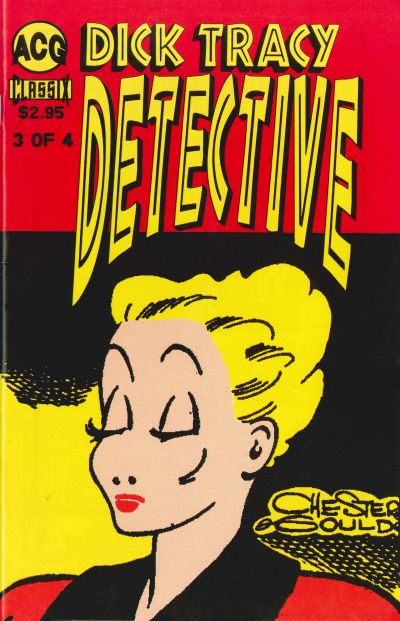 Cover for Dick Tracy Detective (Avalon Communications, 1999 series) #3