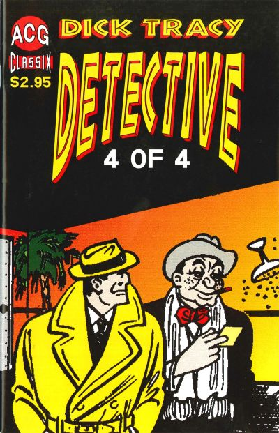 Cover for Dick Tracy Detective (Avalon Communications, 1999 series) #4