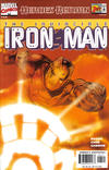 Cover for Iron Man (Marvel, 1998 series) #1 [Sunburst]