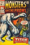 Cover for Monsters on the Prowl (Marvel, 1971 series) #11