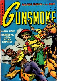 Cover Thumbnail for Gunsmoke (Youthful, 1949 series) #15