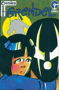 Cover Thumbnail for Grendel (Comico, 1983 series) #3