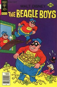 Cover Thumbnail for Walt Disney The Beagle Boys (Western, 1964 series) #39 [Gold Key]