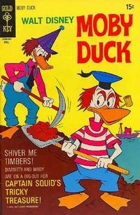 Cover Thumbnail for Walt Disney Moby Duck (Western, 1967 series) #9