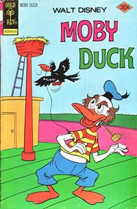 Cover Thumbnail for Walt Disney Moby Duck (Western, 1967 series) #24 [Gold Key]