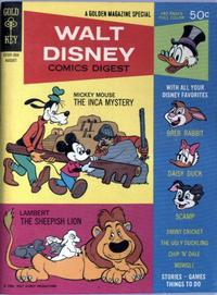 Cover Thumbnail for Walt Disney Comics Digest (Western, 1968 series) #3