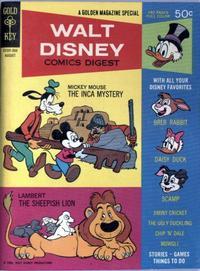Cover Thumbnail for Walt Disney Comics Digest (Western, 1968 series) #3