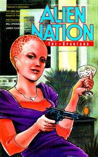 Cover Thumbnail for Alien Nation: The Spartans (Malibu, 1990 series) #2