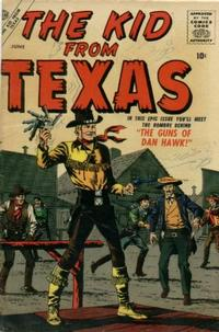 Cover Thumbnail for The Kid from Texas (Marvel, 1957 series) #1