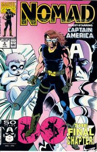 Cover Thumbnail for Nomad (Marvel, 1990 series) #4 [Direct]