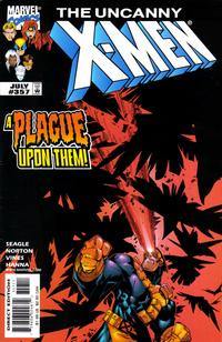 Cover Thumbnail for The Uncanny X-Men (Marvel, 1981 series) #357 [Direct Edition]