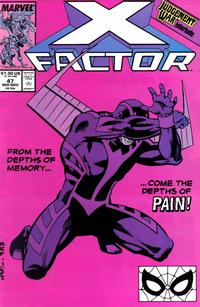 Cover Thumbnail for X-Factor (Marvel, 1986 series) #47 [Direct]