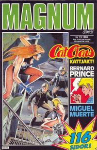 Cover Thumbnail for Magnum Comics (Pandora Press, 1988 series) #13/1989