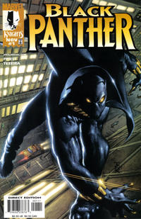 Cover Thumbnail for Black Panther (Marvel, 1998 series) #1 [Direct Edition]