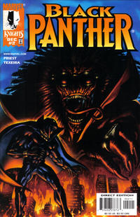 Cover Thumbnail for Black Panther (Marvel, 1998 series) #2 [Cover A]