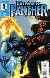 Cover Thumbnail for Black Panther (Marvel, 1998 series) #3