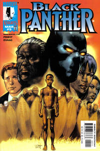 Cover Thumbnail for Black Panther (Marvel, 1998 series) #5