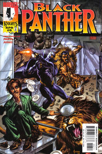 Cover Thumbnail for Black Panther (Marvel, 1998 series) #6