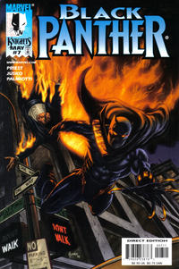 Cover Thumbnail for Black Panther (Marvel, 1998 series) #7