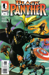 Cover Thumbnail for Black Panther (Marvel, 1998 series) #8