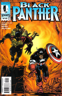 Cover Thumbnail for Black Panther (Marvel, 1998 series) #12