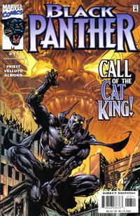 Cover Thumbnail for Black Panther (Marvel, 1998 series) #13