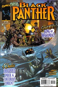 Cover Thumbnail for Black Panther (Marvel, 1998 series) #14
