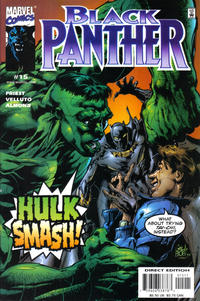 Cover Thumbnail for Black Panther (Marvel, 1998 series) #15