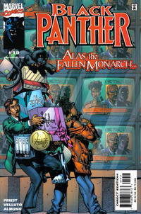 Cover Thumbnail for Black Panther (Marvel, 1998 series) #19