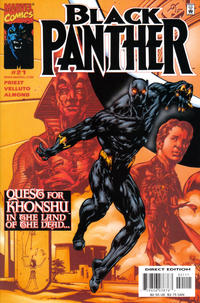 Cover Thumbnail for Black Panther (Marvel, 1998 series) #21