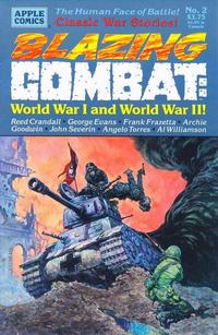 Cover Thumbnail for Blazing Combat: World War I and World War II (Apple Press, 1994 series) #2