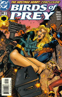 Cover Thumbnail for Birds of Prey (DC, 1999 series) #24