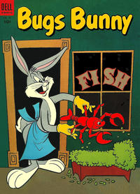 Cover Thumbnail for Bugs Bunny (Dell, 1952 series) #32