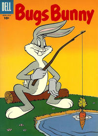 Cover Thumbnail for Bugs Bunny (Dell, 1952 series) #61