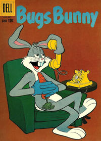 Cover Thumbnail for Bugs Bunny (Dell, 1952 series) #74