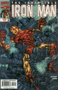 Cover Thumbnail for Iron Man (Marvel, 1998 series) #3 [Direct Edition]