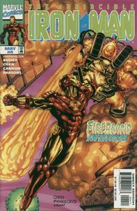 Cover Thumbnail for Iron Man (Marvel, 1998 series) #4 [Direct Edition]